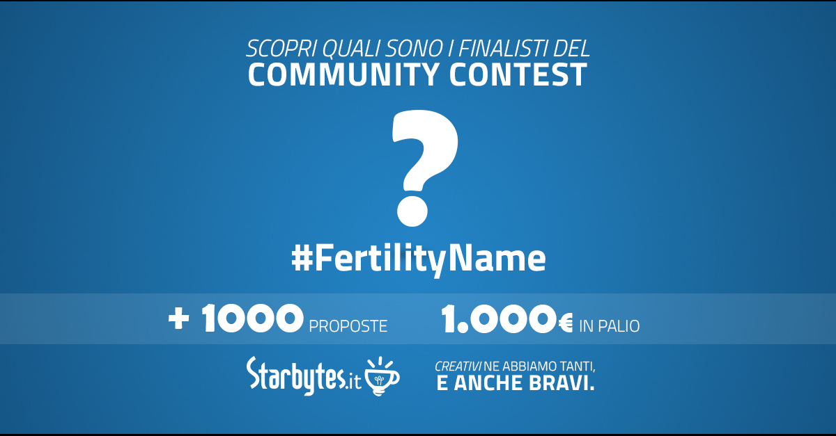 fertility day finalisti contest